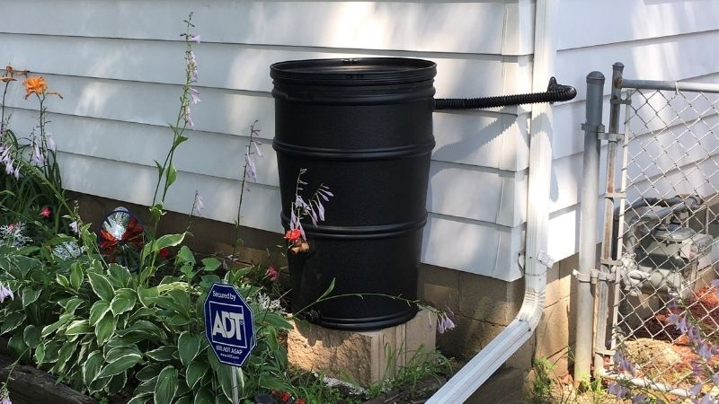 Winterize Your Rain Barrel